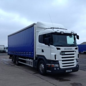 Scania 310 front